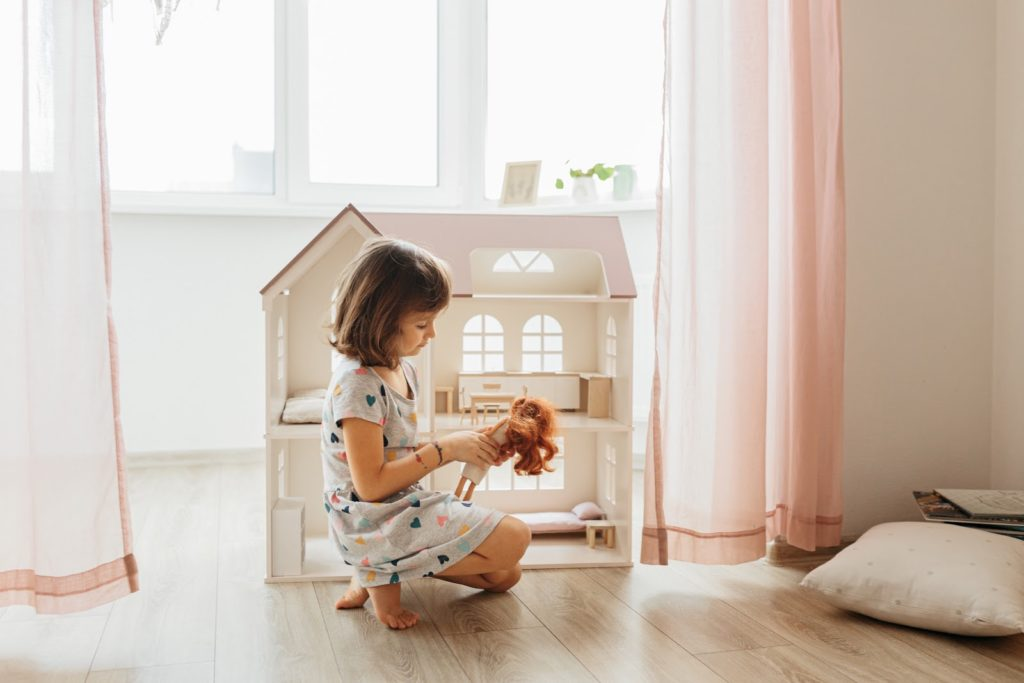 domek dla lalek - zabawka dla dziewczynki